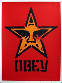 star stencil by shepard fairey