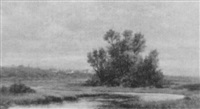 marshes near fall river by h. a. fish