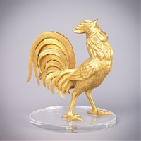 golden rooster by frank frederick polk
