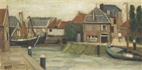 canal scene by jennette rapp
