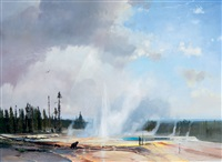 the wonders of yellowstone by michael coleman
