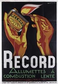 record - allumettes à combustion lente by rené magritte