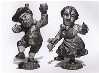 pair of dancing dwarfs by austrian school-tyrolean (18)