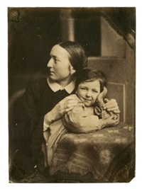 la femme et le fils de l'artiste by jean baptiste frénet