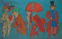 le carnaval de saint pétersbourg by mihail chemiakin