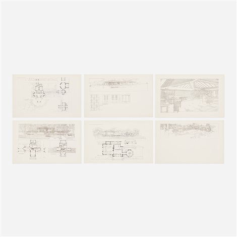 Buildings Plans And Designs By Frank Lloyd Wright