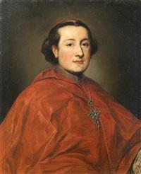 Portrait of Cardinal Carlo Rezzonico...