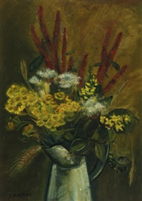 still life of flowers by kees andrea