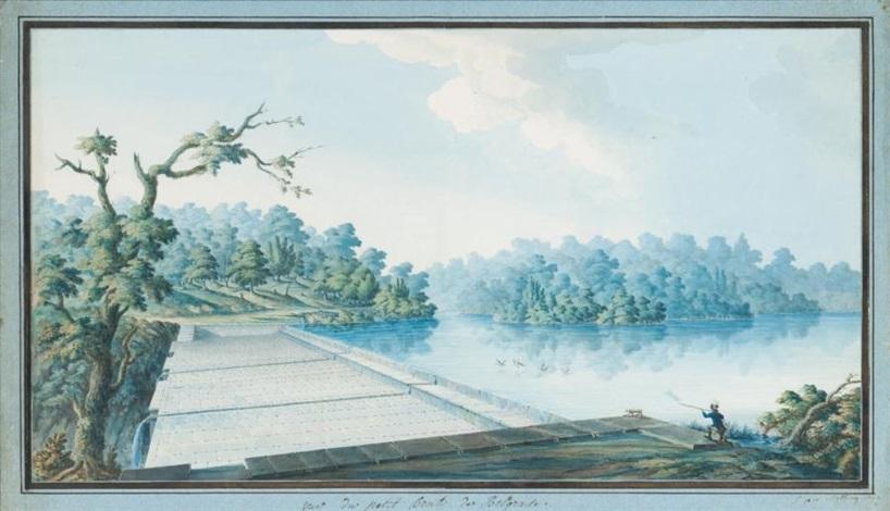 vue du petit bent de belgrade forêt des environs distanbul by antoine ignace melling