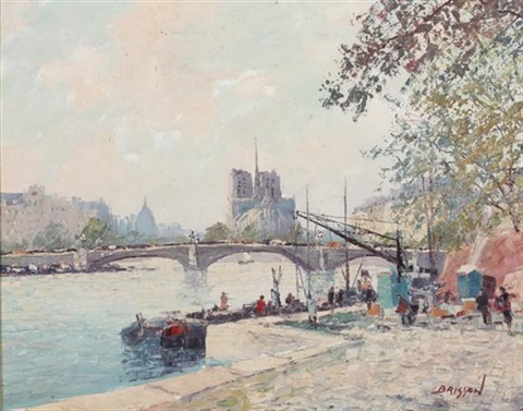 on the seine by marcel brisson