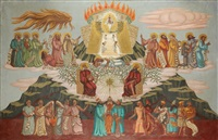 religious scene by samson flexor