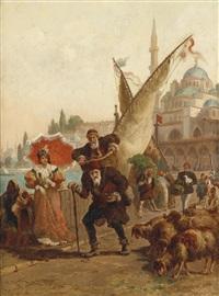 motiv aus istanbul by paul rudolf linke