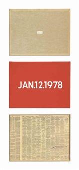 jan. 12, 1978 by on kawara