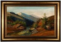 sierra nevada landscape by john bond francisco