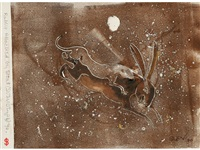 rabbit attacked by stoat (svenotype) by sven berlin