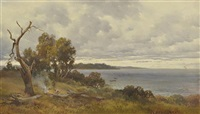 lake alexandrina by george alfred john webb