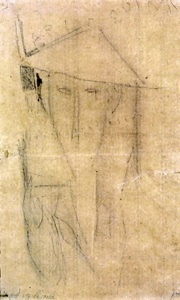 l'arlequin by amedeo modigliani