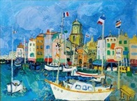 port de st. tropez by paul aïzpiri