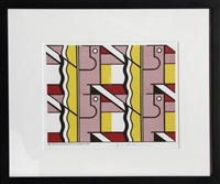 modular painting by roy lichtenstein