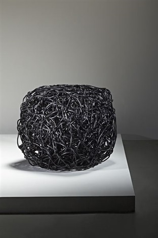 black stool by forrest warden myers