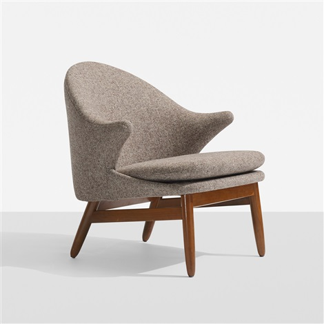 Charming Lounge Chair By Hans Olsen