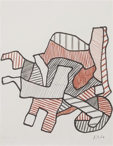 brouette iv by jean dubuffet