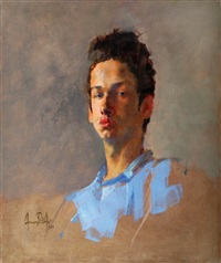 portrait by amnon david ar