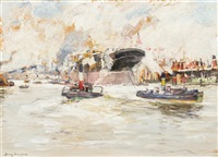 the launching of the lusitania by james kay