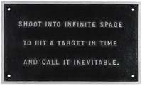 selection from the survival series by jenny holzer