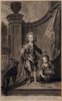 drei portraits von mitgliedern englischer adelssfamilien (3 works) by john smith