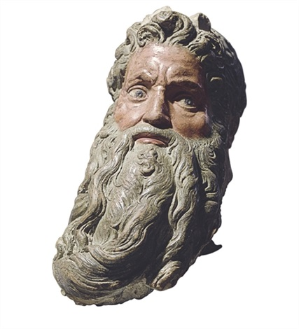 head of moses by michelangelo