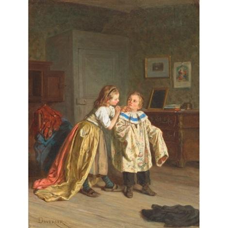 amateur theatricals by théophile emmanuel duverger