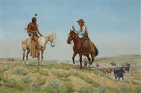 on the chisholm trail by byron wolfe