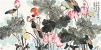 花卉 by jia guangjian