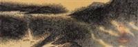 山水清音 (buddha) by liu yun