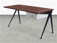 compas desk by jean prouvé