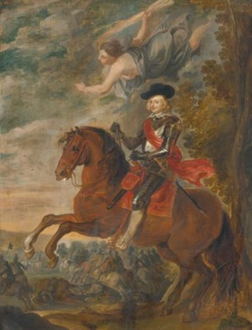 cardinal infante archduke ferdinand on horseback during the battle of nördlingen by sir peter paul rubens