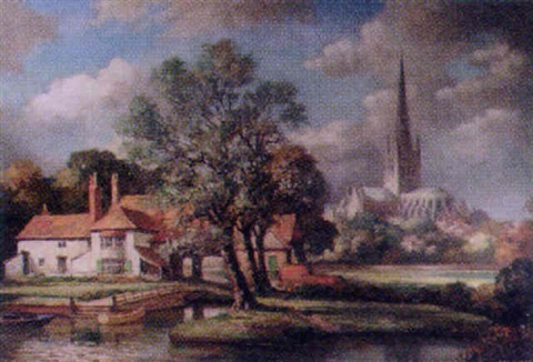 pulls ferry norwich cathedral by max hofler