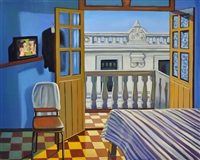 room 305,. painted maryborough, queensland by stewart angus macfarlane