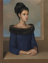 portrait of a lady by claudio bravo