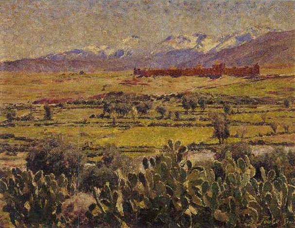 Casbah Dans Latlas Maroc By Leslie Robert Poole Smith On Artnet