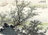 运河晓色 by song wenzhi