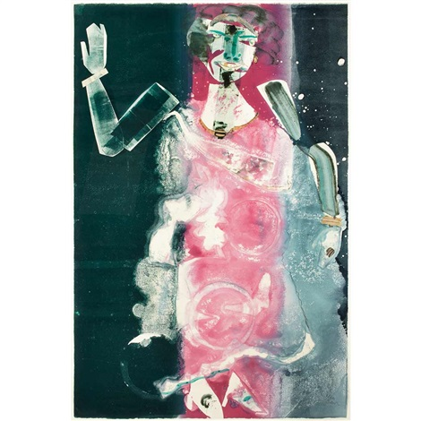 empress of the blues by romare bearden