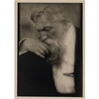 m. auguste rodin (from camera work xxxiv/xxxv) by edward steichen