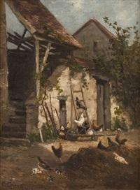 hühnerhof by caroline courtin