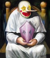 untitled (clown) by emmanuel garibay