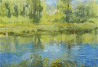 slaney river, co wexford by pauline merry