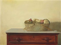 gourds and pomegranates by julio larraz