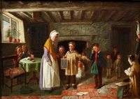 the schoolroom lesson by charles hunt