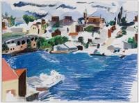 harbor scene by elena gutekunst